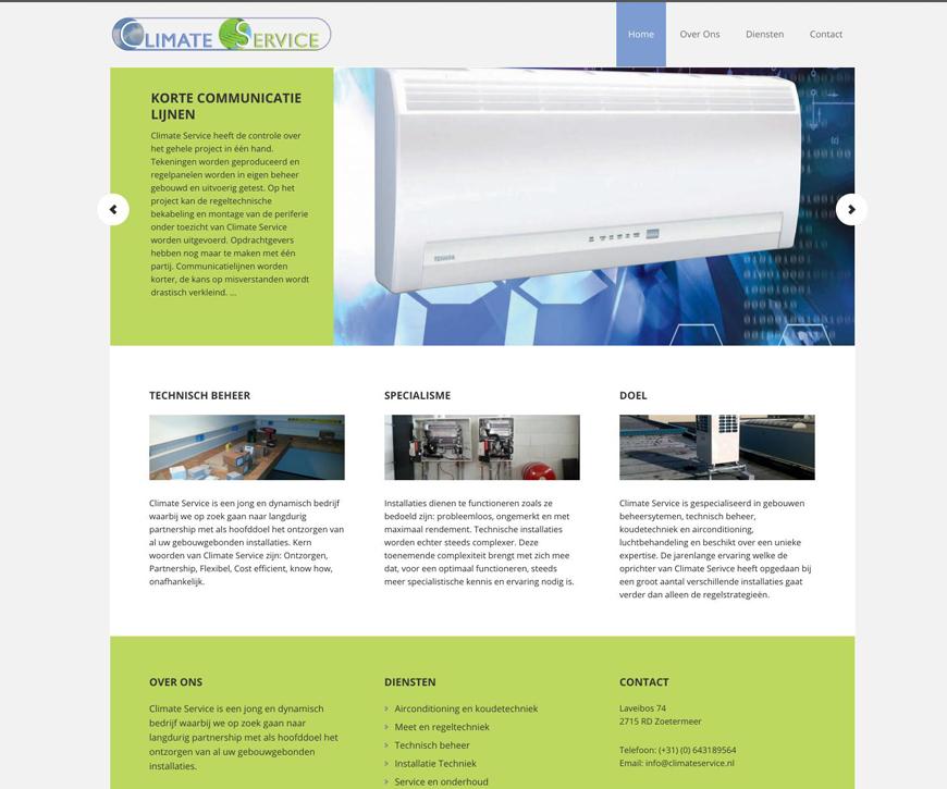 Climate Service – Website