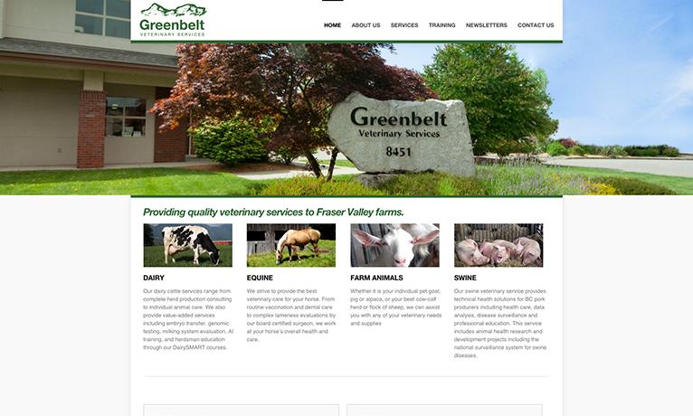 Greenbeltvet – Website
