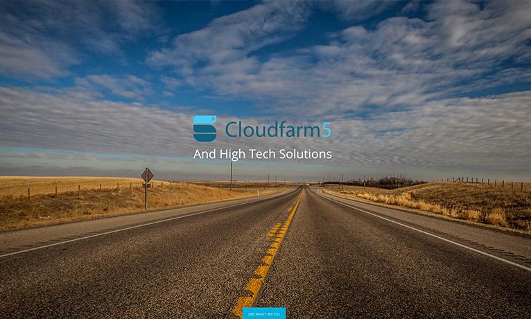 Cloudfarm5 – Website