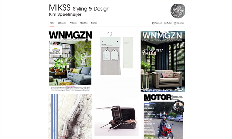 MIKSS Styling & Design – Website