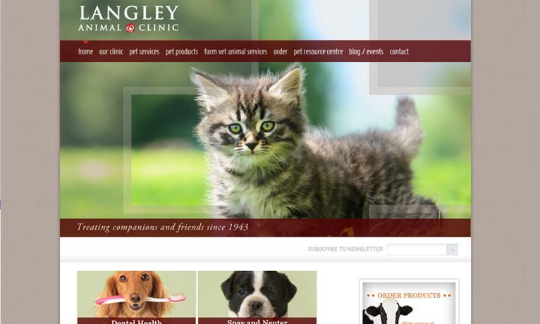 Langley – Website